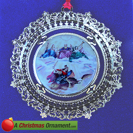 1996 U.S. Capitol Apotheosis of George Washington Ornament