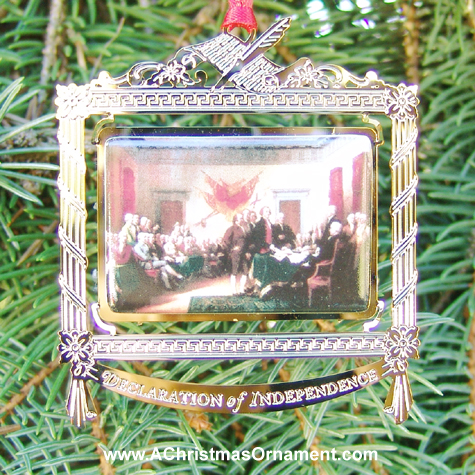 1999 Signing Of The Declaration Independence Ornament