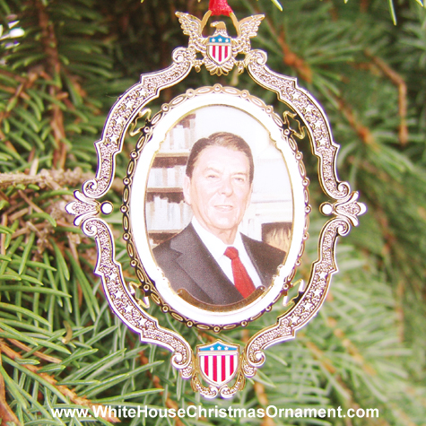 2004 American President Collection Ronald Reagan Ornament