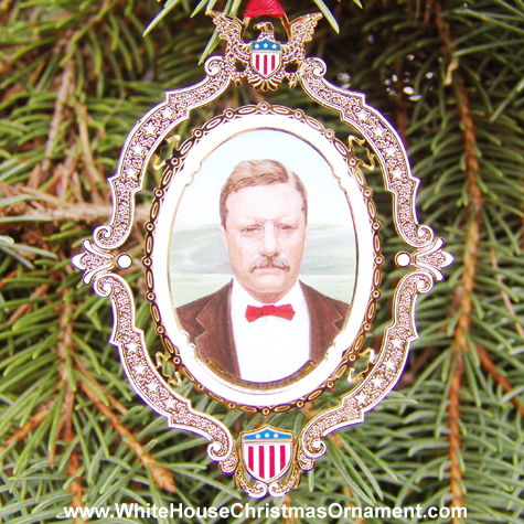 2004 American President Collection Theodore Roosevelt Ornament