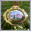 Washington DC Cameo Ornament