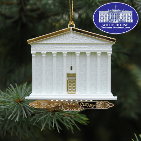 "2006 Supreme Court Marble ""Building"" Ornament"