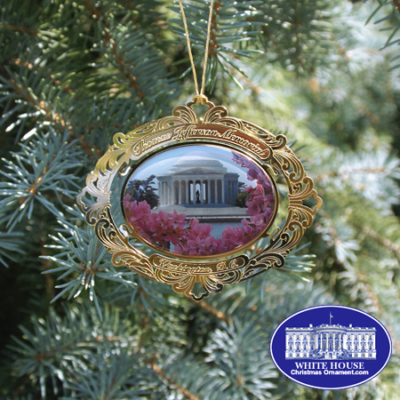 The Thomas Jefferson Memorial Ornament