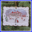 2007 Mount Vernon Winter Scene Ornament