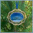 2010 White House North Portico Ornament